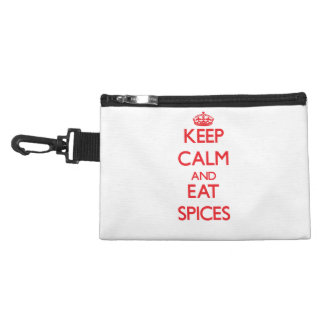Keep calm and eat Spices Accessories Bag