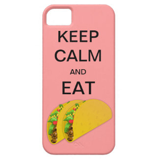 KEEP CALM AND EAT TACOSI CaseMate iPhone 5 Case