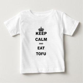 KEEP CALM AND EAT TOFU BABY T-Shirt