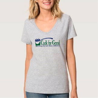 Keep Calm and Eat Your Veg tee by Cook for Good