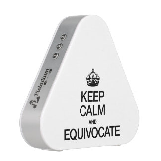 KEEP CALM AND EQUIVOCATE BLUEOOTH SPEAKER