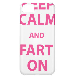 Keep Calm and Fart On iPhone 5C Cover
