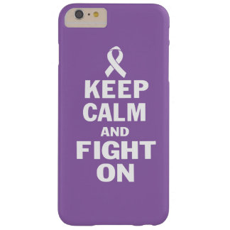 KEEP CALM AND FIGHT ON BARELY THERE iPhone 6 PLUS CASE