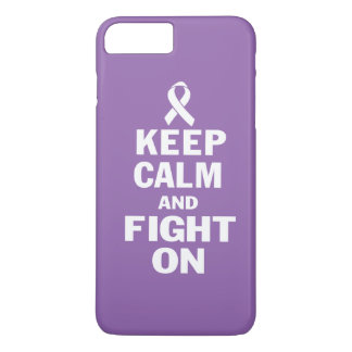 KEEP CALM AND FIGHT ON iPhone 7 PLUS CASE