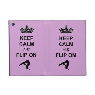 Keep Calm and Flip on iPad Mini Cases