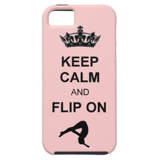 Keep Calm and Flip on Tumbling iPhone 5 Cover