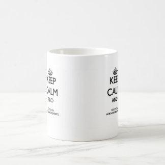 Keep Calm And Focus On Acknowledgments Mug