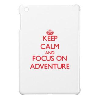 Keep calm and focus on ADVENTURE iPad Mini Covers