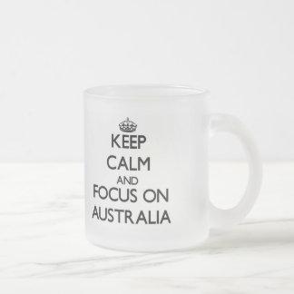 Keep Calm And Focus On Australia Coffee Mug