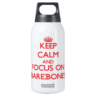 Keep Calm and focus on Bare-Bones SIGG Thermo 0.3L Insulated Bottle