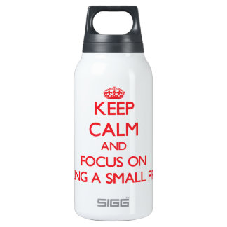 Keep Calm and focus on Being A Small Fry SIGG Thermo 0.3L Insulated Bottle