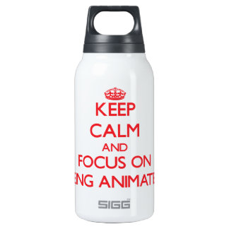 Keep Calm and focus on Being Animated SIGG Thermo 0.3L Insulated Bottle