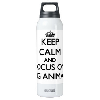 Keep Calm and focus on Being Animated SIGG Thermo 0.5L Insulated Bottle