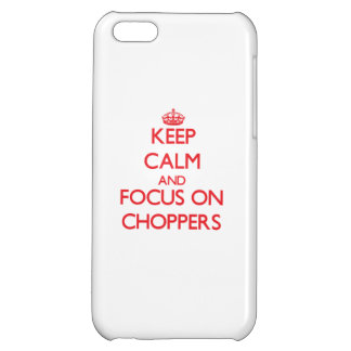 Keep Calm and focus on Choppers iPhone 5C Cover