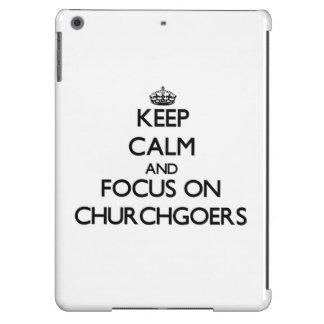 Keep Calm and focus on Churchgoers iPad Air Case