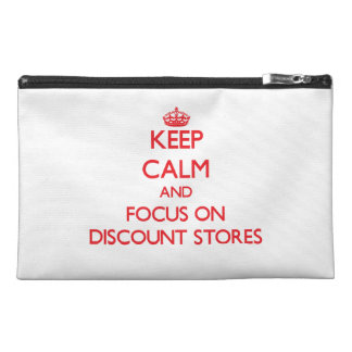 Keep Calm and focus on Discount Stores Travel Accessories Bags