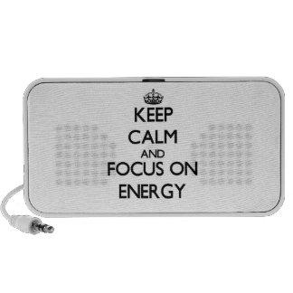 Keep Calm and focus on ENERGY Mini Speaker