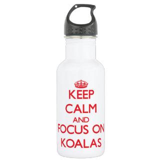 Keep Calm and focus on Koalas