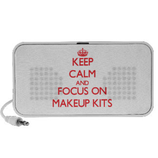 Keep Calm and focus on Makeup Kits Speaker System