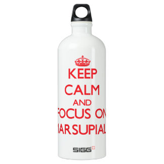 Keep Calm and focus on Marsupials SIGG Traveler 1.0L Water Bottle