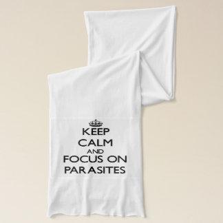 Keep Calm and focus on Parasites Scarf
