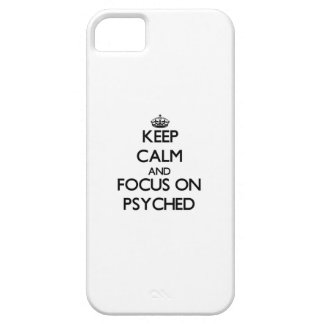 Keep Calm and focus on Psyched Cover For iPhone 5/5S