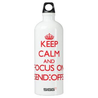 Keep Calm and focus on Send-Offs SIGG Traveler 1.0L Water Bottle