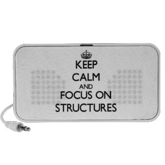Keep Calm and focus on Structures PC Speakers