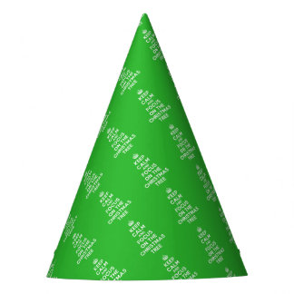 Keep calm and focus on the Christmas Tree funny Party Hat