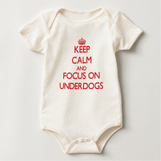 Keep Calm and focus on Underdogs Romper
