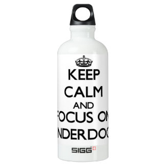 Keep Calm and focus on Underdogs SIGG Traveler 0.6L Water Bottle