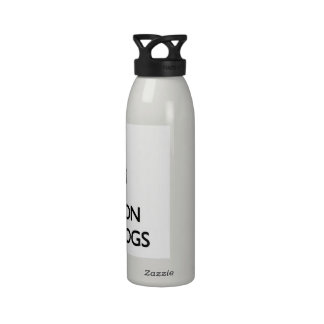 Keep Calm and focus on Underdogs Reusable Water Bottle