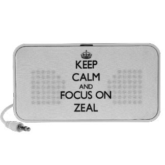 Keep Calm and focus on Zeal Speaker System