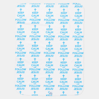 Keep Calm And Follow Jesus Baby Blanket