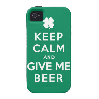 Keep Calm and Give Me Beer iPhone 4 Case