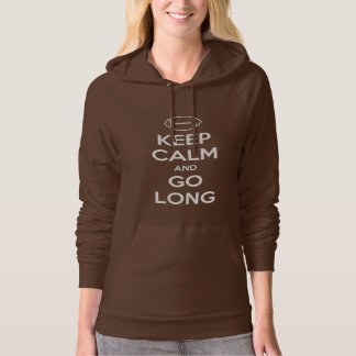KEEP CALM AND GO LONG - football/sports/nfl Hoodie