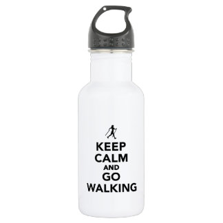 Keep calm and go Nordic Walking 532 Ml Water Bottle