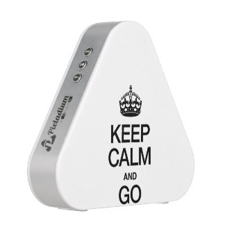 KEEP CALM AND GO BLUEOOTH SPEAKER