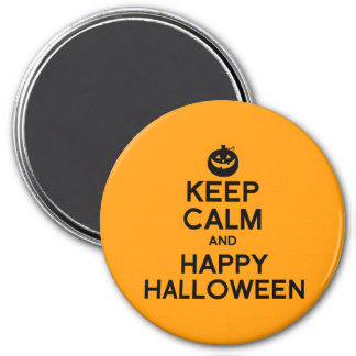 KEEP CALM AND HAPPY HALLOWEEN - png Magnet