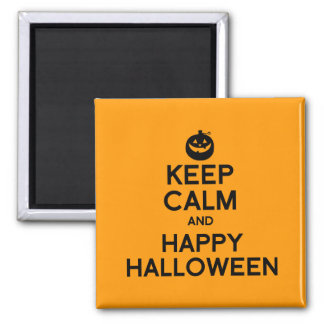 KEEP CALM AND HAPPY HALLOWEEN - png Refrigerator Magnets