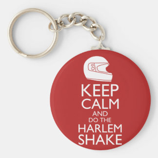 Keep Calm and Harlem Shake (Pick your color) Basic Round Button Keychain