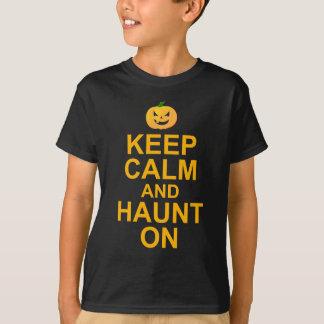 Keep Calm and Haunt On, Halloween T-Shirt