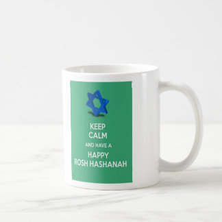 Keep calm and have a Happy Rosh Hashanah Coffee Mug