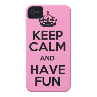 Keep Calm and Have Fun case