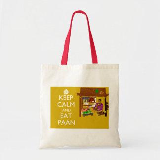 Keep Calm and Have Paan Tote Bag