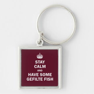 Keep calm and have some Gefilte Fish Keychain