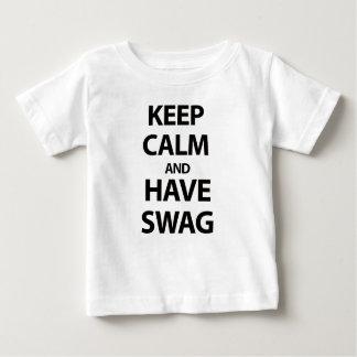 Keep Calm and Have Swag Tee Shirts