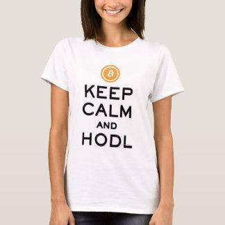 Keep Calm and HODL  #Bitcoin T-Shirt