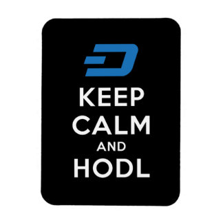 Keep Calm And Hodl Dash Long Magnet