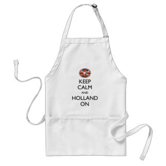 Keep Calm and Holland On Standard Apron